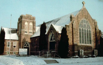 Church With Snow